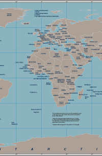 Large map of the world atlas world travel and map sites gumiabroncs Choice Image