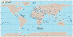 Map of the world continental maps world maps map of the world gumiabroncs Gallery